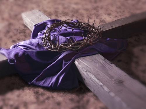 Cross-cloth-thorns
